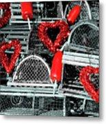 Love And Lobster Metal Print