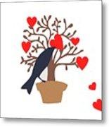 Love Bird Part 2 Metal Print