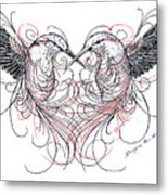 Love Birds Metal Print