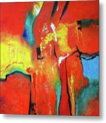 The Passage Of Power Metal Print