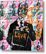 Love Chaplin Metal Print