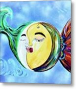 Love Connect - You Are My Moon And Sun Metal Print