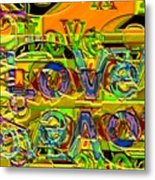 Love Contest Metal Print