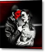 Love Couple 2 Metal Print