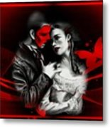 Love Couple 3 Metal Print