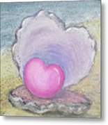 Love Endures All Things Metal Print