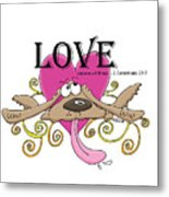 Love Endures Metal Print
