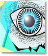 Love Eye Metal Print