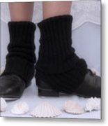 Love For Tap Dance Shoes In Dance Warmers Metal Print