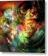 Love For The Boy King Metal Print
