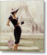 Love, from Paris Metal Print