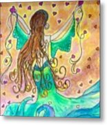 Love From The Sea Metal Print
