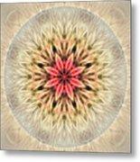 Love From Within Mandala Metal Print
