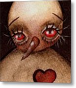 Love Hurts Metal Print by  Abril Andrade Griffith