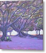 Love In Lal Bagh 4 Metal Print