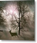 Love In The Wild Metal Print