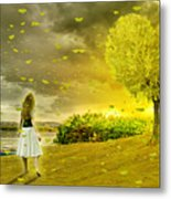 Love Is All Around Us And So The Feeling Grows Metal Print