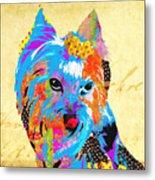 Love Is In The Dog's Eyes  Metal Print