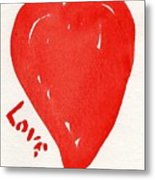 Love Is.... Metal Print