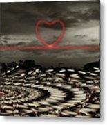 Love Lines Metal Print