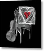 Love Melody Metal Print