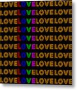 Love Neon 1 Metal Print