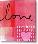 Love Notes- Art By Linda Woods Metal Print