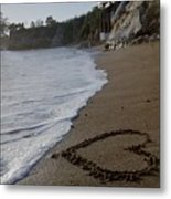 Love Of The Ocean. Metal Print by Susanne Awbrey