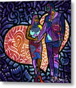Love On High Notes Metal Print