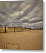 Love On The Forecast Metal Print