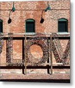 Love Promises Metal Print