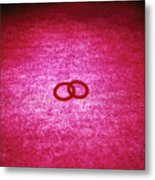 Love Rings Metal Print