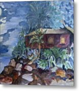 Love Shack Metal Print