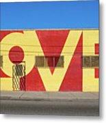 Love Store Front Metal Print