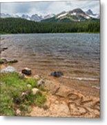 Love The Colorado Rocky Mountains Metal Print