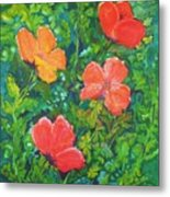Love Those Poppies Metal Print