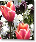 Love Tulips Metal Print