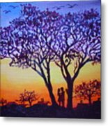 Love Under The Tree Metal Print