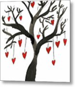 Love Will Grow Metal Print by Sarah Benning
