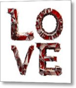 Love You To Death Metal Print