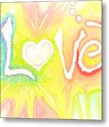 Lovelight Metal Print