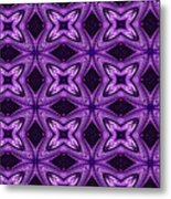 Lovely As A Purple Thought Metal Print