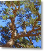 Lovely As A Tree Metal Print