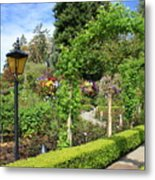Lovely Day In The Garden Metal Print