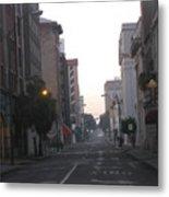 Lovely Downtown ''savannah Metal Print