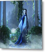 Lovely Is The Night Metal Print by Melissa Krauss