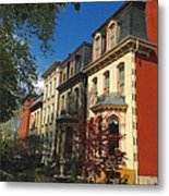 Lovely Ladies In Lafayette Square Metal Print