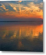 Lovely Lakeside View Metal Print