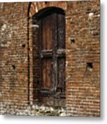 Lovely Old Door Metal Print