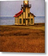 Lovely Point Cabrillo Light Station Metal Print